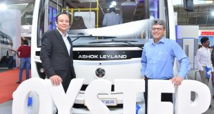 ashok, Leyland, launches, Oyster , India