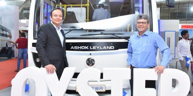 ashok, Leyland, launches, Oyster , India
