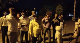 in-the-rajasthan-university-the-fasting-continued-on-the-fourth-day-of-serving-and-retired-employees-for-their-justified-demands